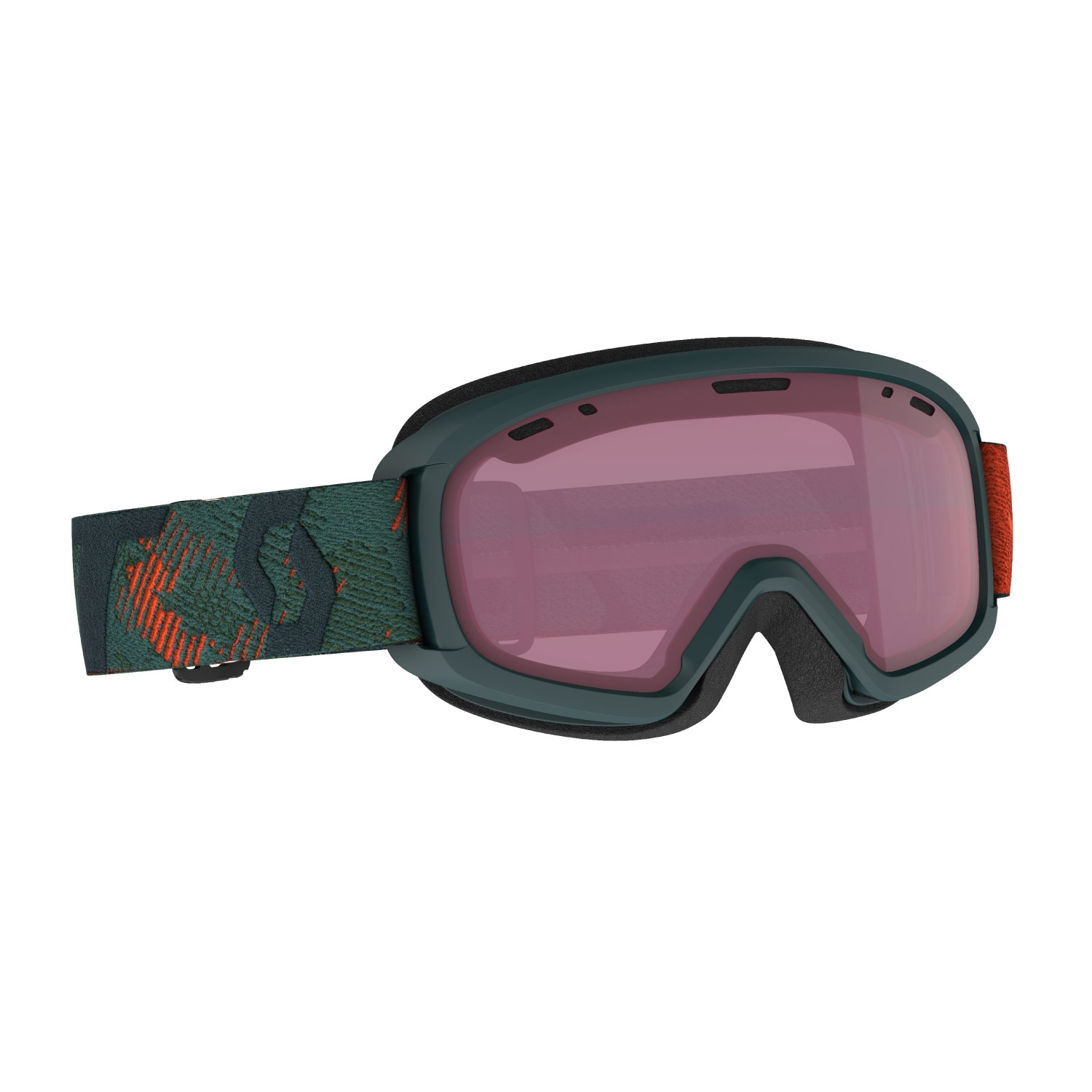 Scott Witty Junior Goggles Sombre Green/Pumpkin Orange 2021