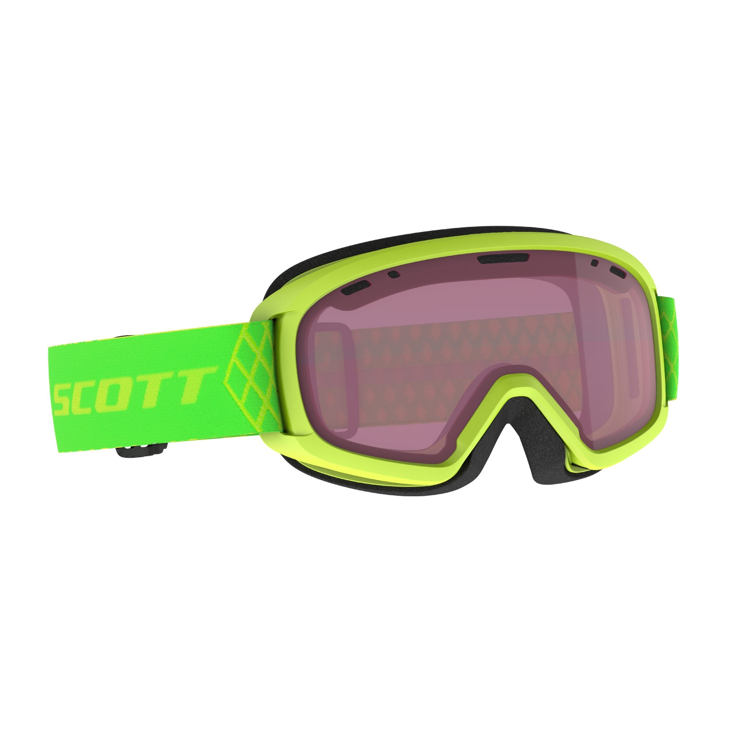 Scott Witty Junior Goggles High Viz Green/Enhancer 2021