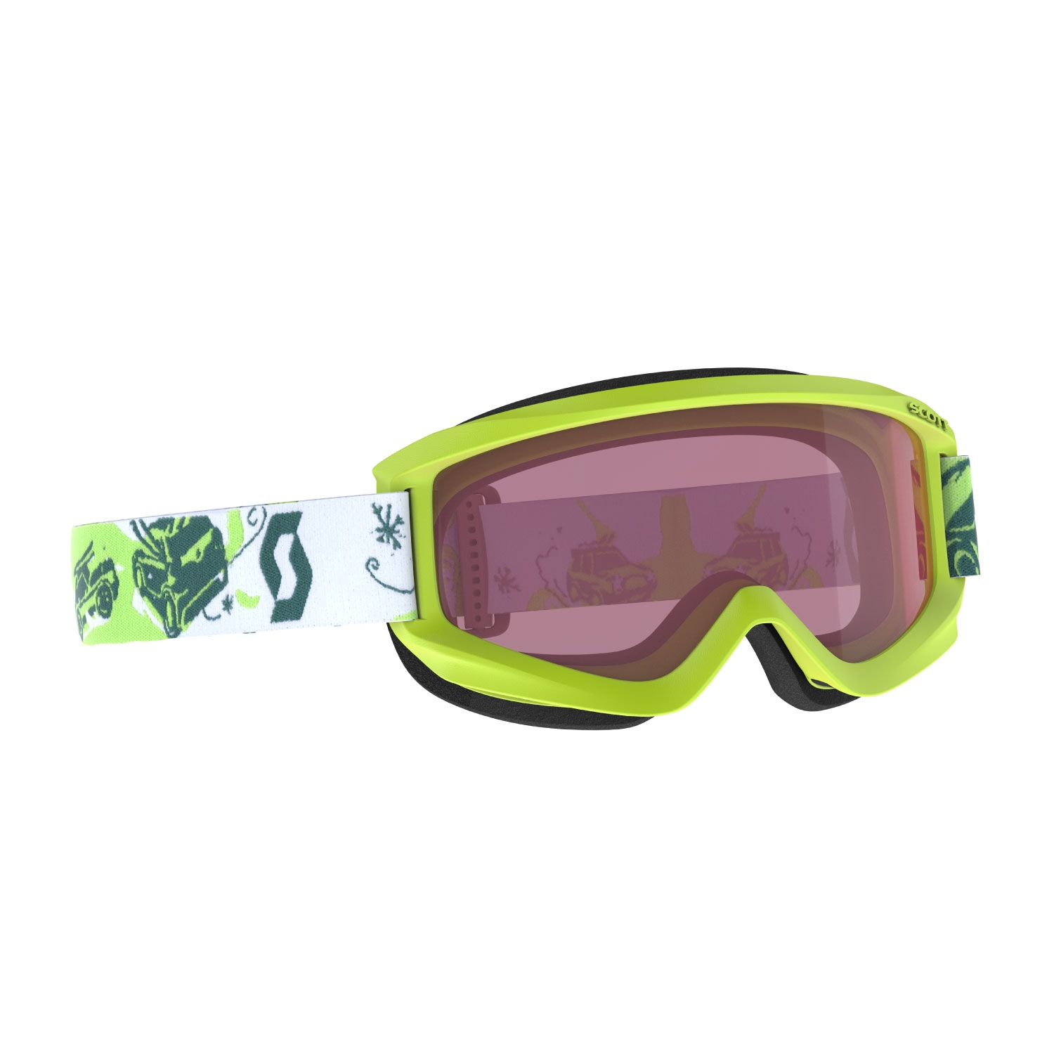 Scott Agent Junior Goggles Lime Green/Enhancer 2021