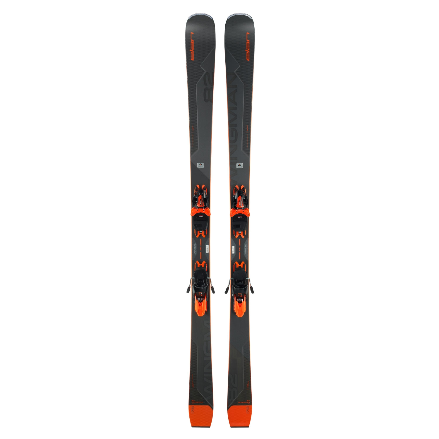 Elan Wingman 82 Ti Powershift Skis EMX 11 Shift Bindings 2021