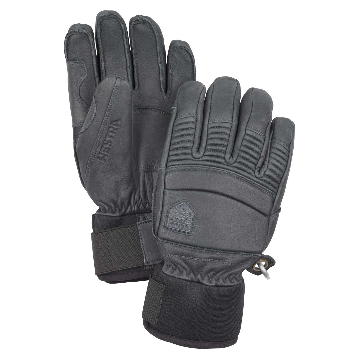Hestra Leather Fall Line Gloves Grey 2021