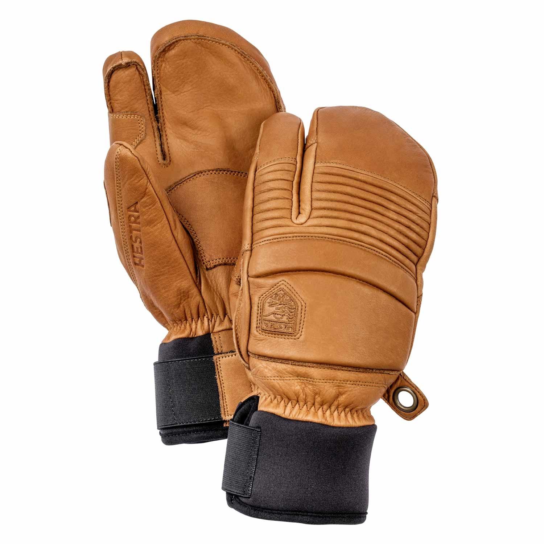 Hestra Leather Fall Line 3-Finger Gloves Tan 2021