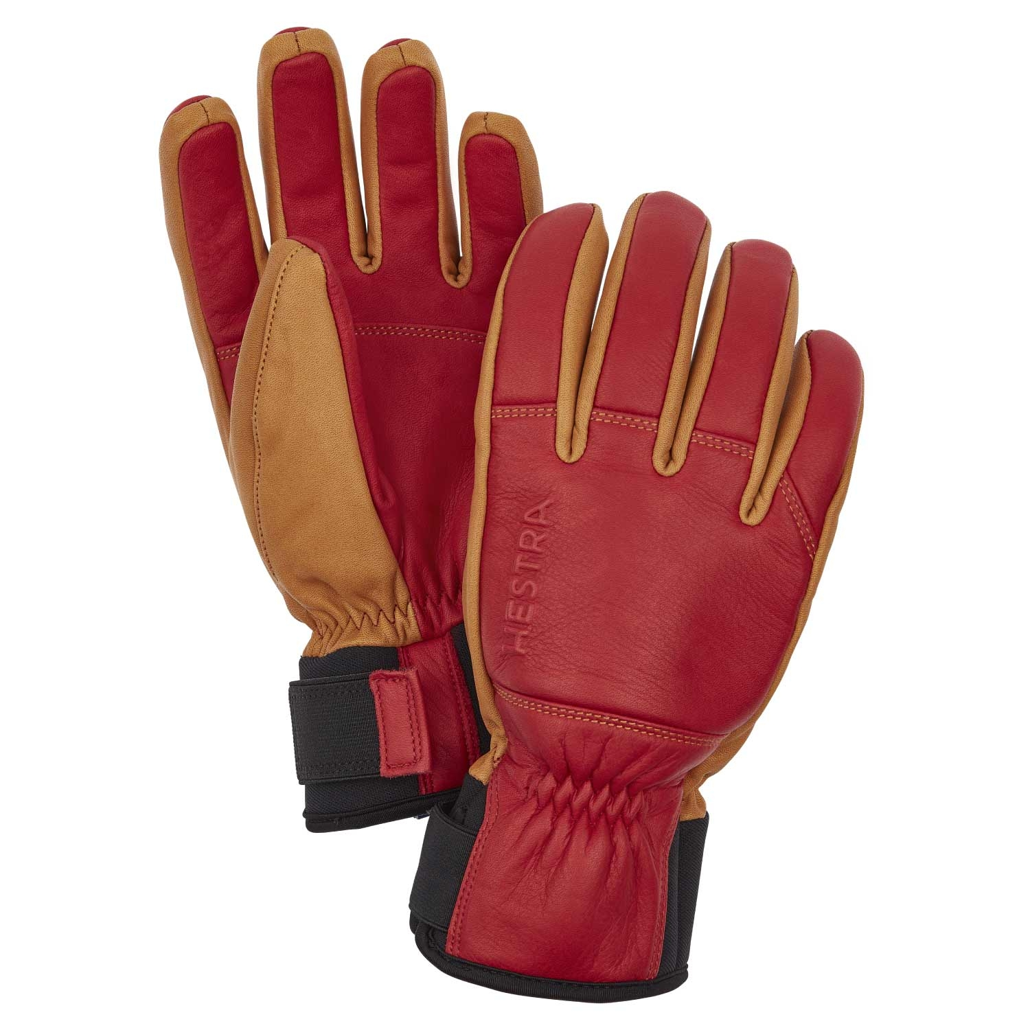 Hestra Omni Gloves Red/Tan 2021