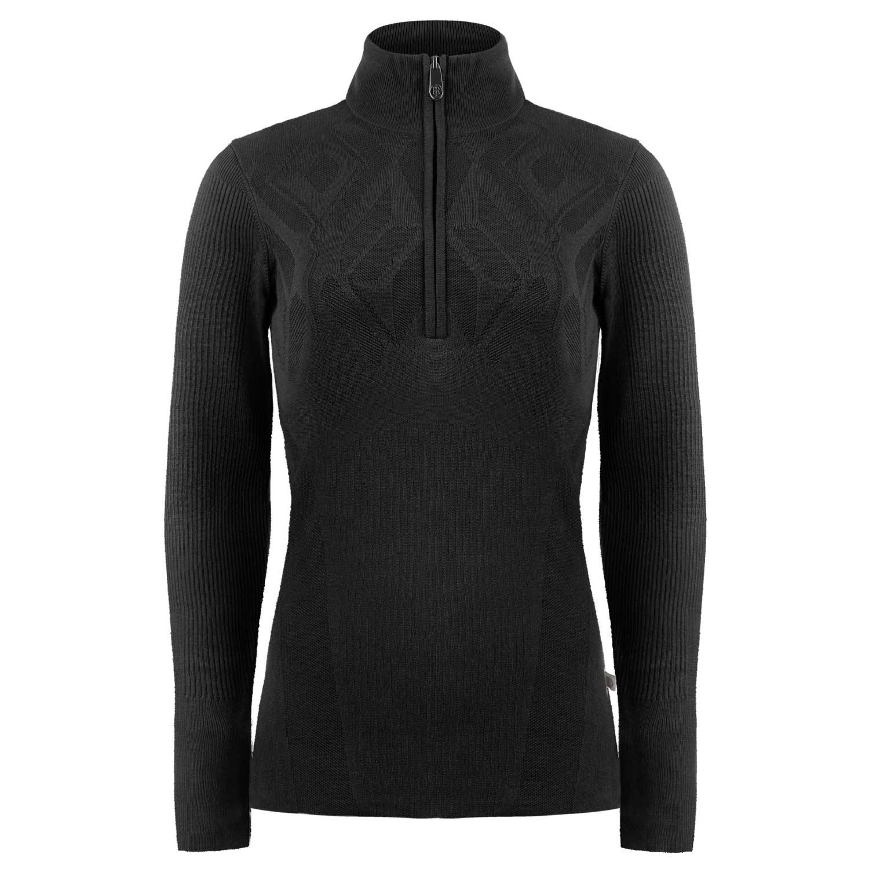 Poivre Blanc Knit Sweater Black 2021
