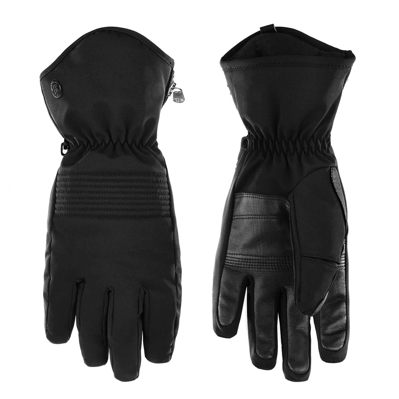 Poivre Blanc Stretch Gloves Black 2021