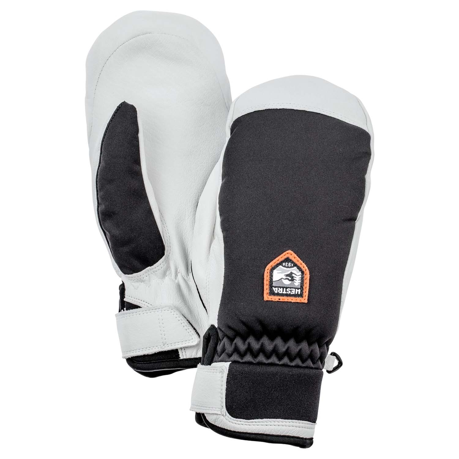 Hestra Womens Moje Czone Mitts Black 2021