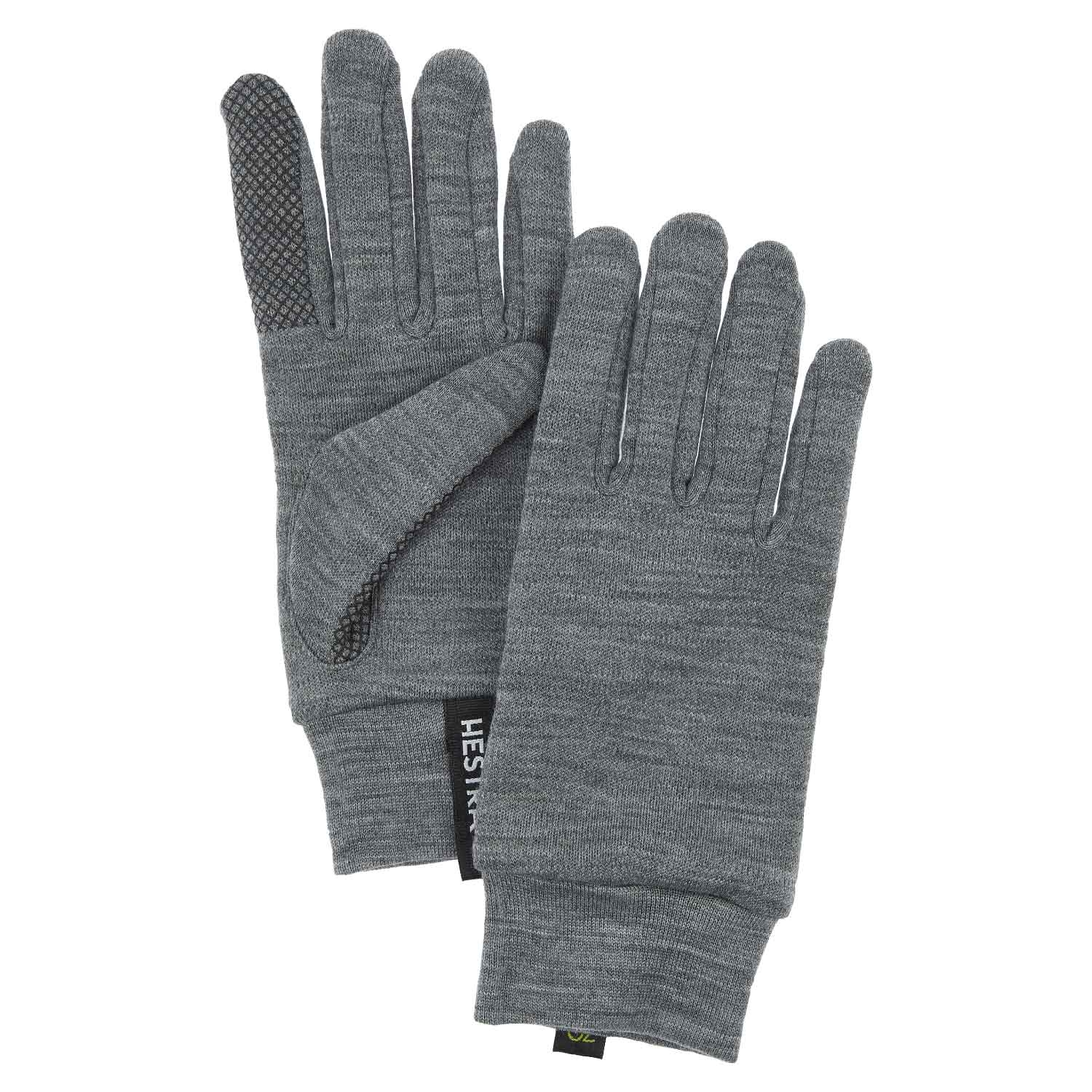Hestra Touch Point Merino Liners Grey 2021
