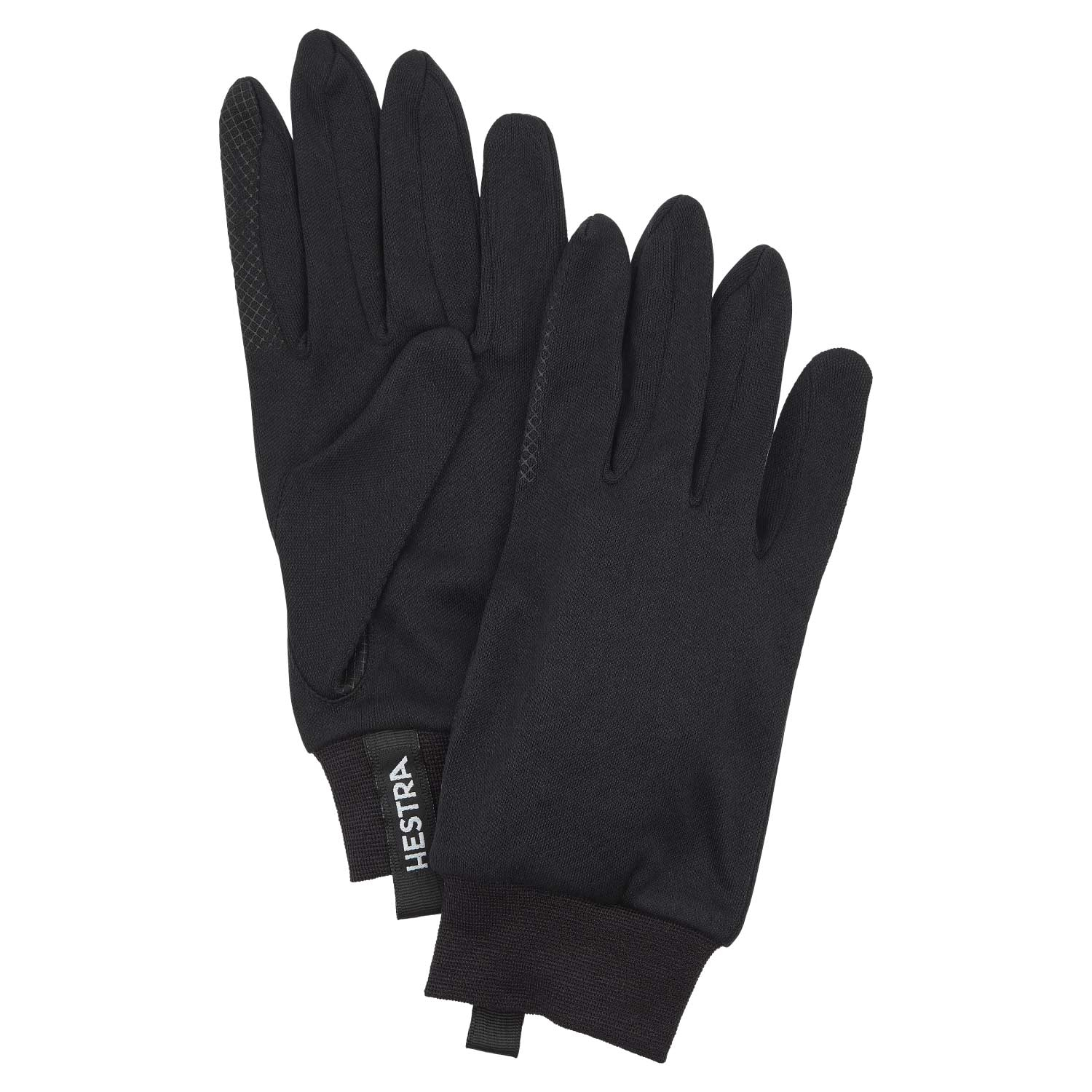 Hestra Touch Point Silk Liners Black 2021
