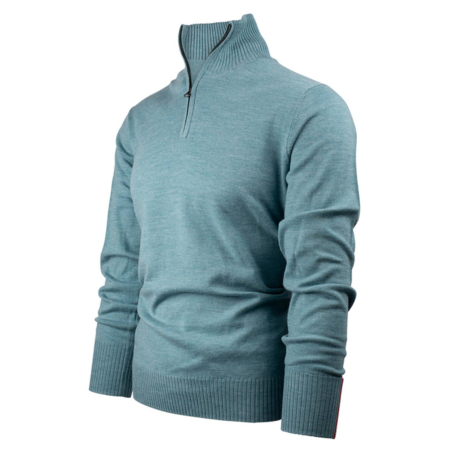 Amundsen Mens Peak Half Zip Fleece Arctic Blue 2021
