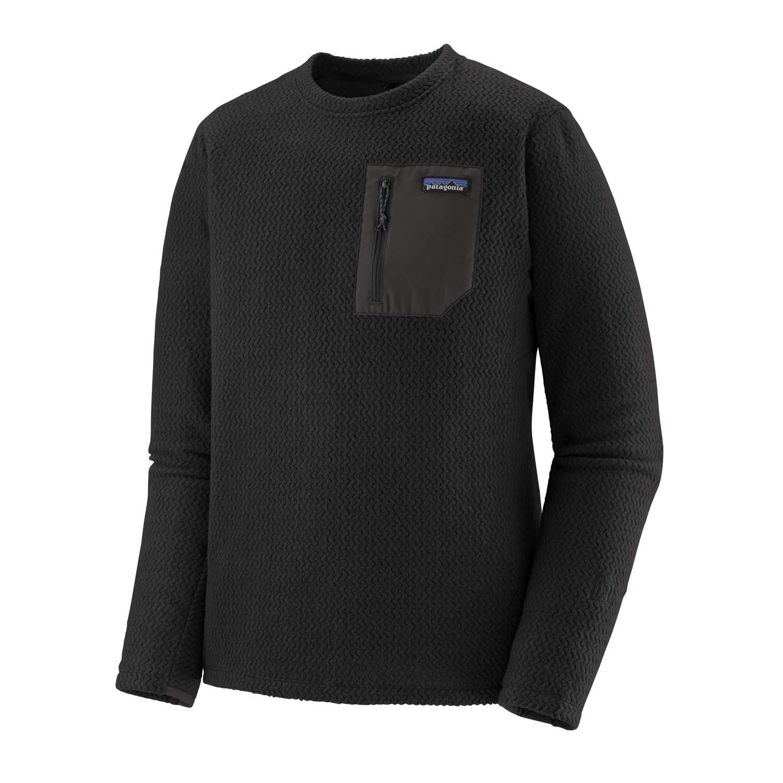 Patagonia R1 Air Crew Sweatshirt Black 2021