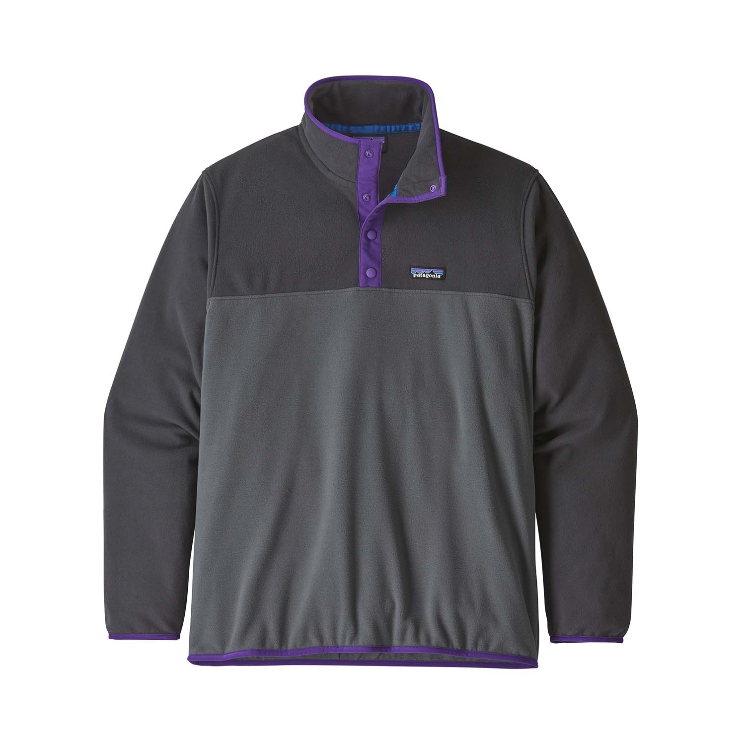 Patagonia Micro D Snap-T Pullover Forge Grey 2021