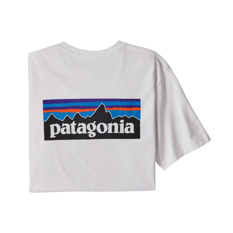 Patagonia P-6 Logo Responsibili-Tee White 2021
