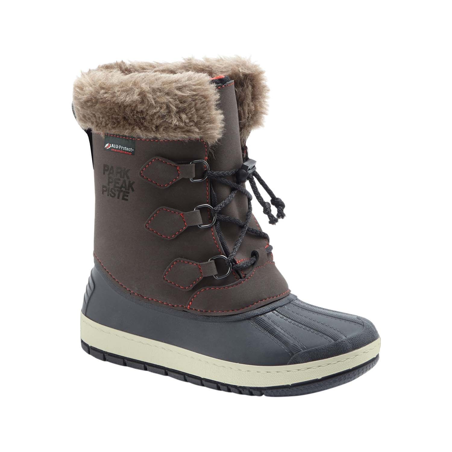 Manbi Nanouk Kids Snow Boots Brown 2021