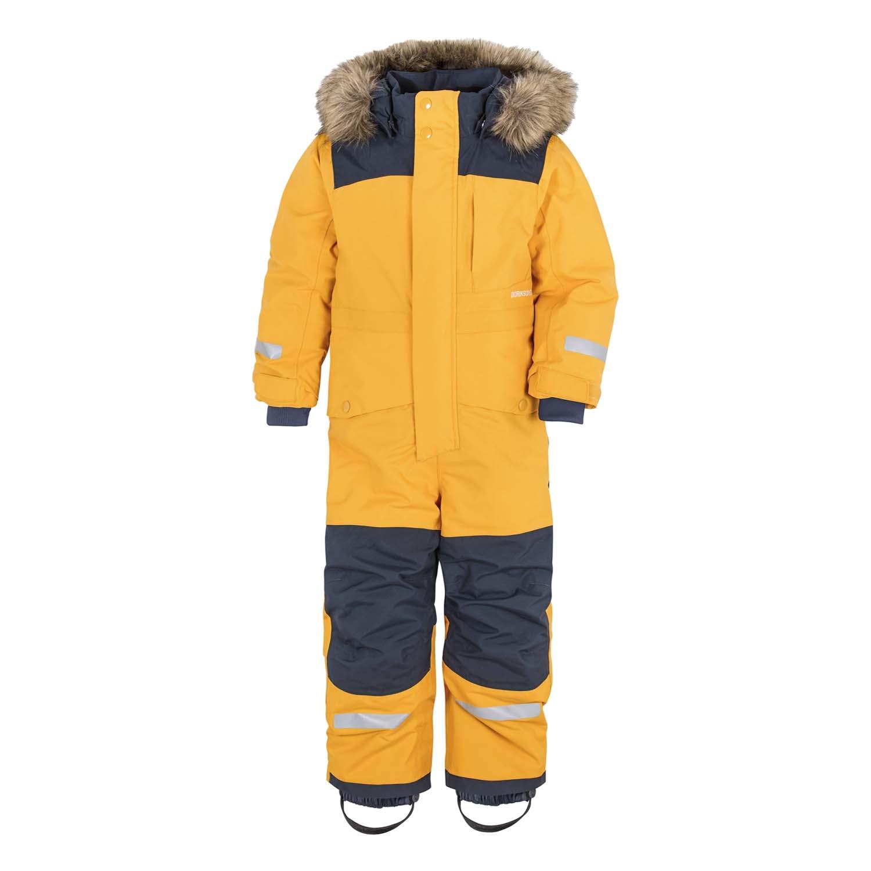 Didriksons Bjornen Coverall Ski Suit Yellow 2021