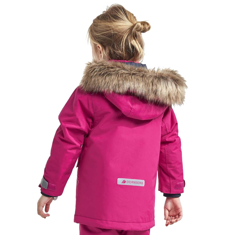 Didriksons Kure Parka Ski Jacket Pink 2021
