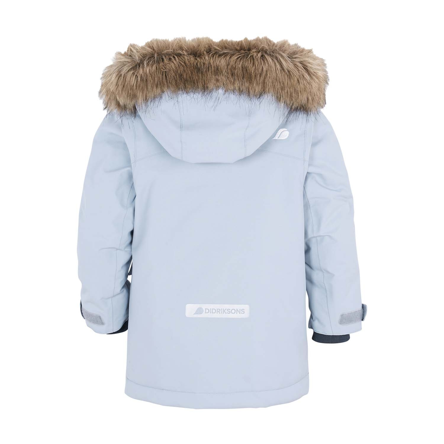 Didriksons Kure Parka Ski Jacket Light Blue 2021