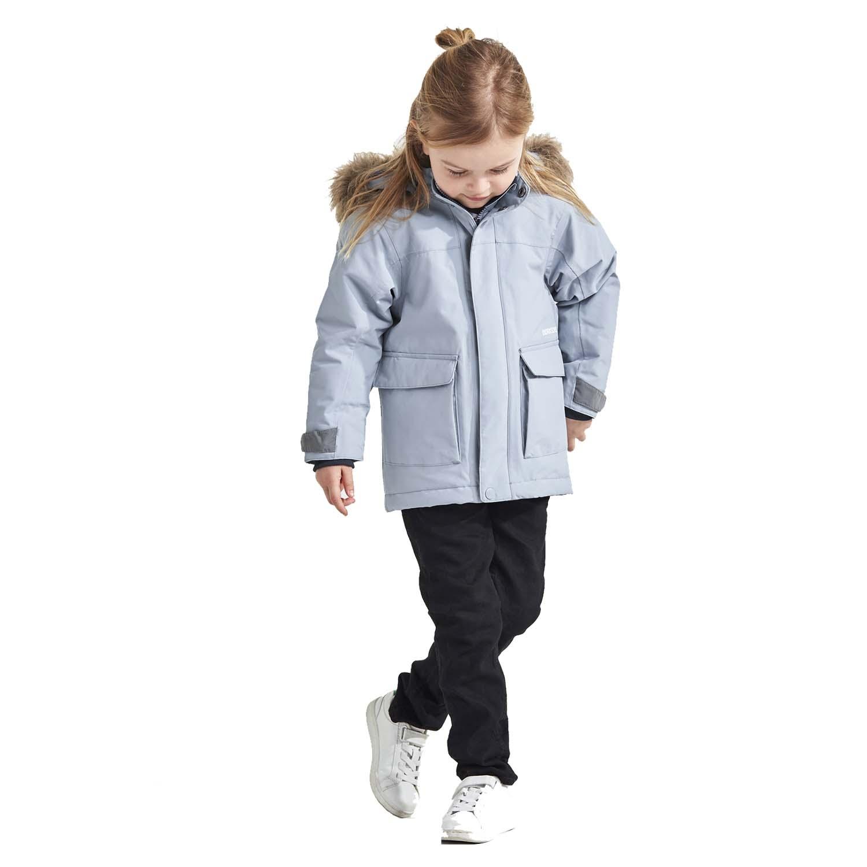 Didriksons Kure Parka Ski Jacket Light Blue 2021