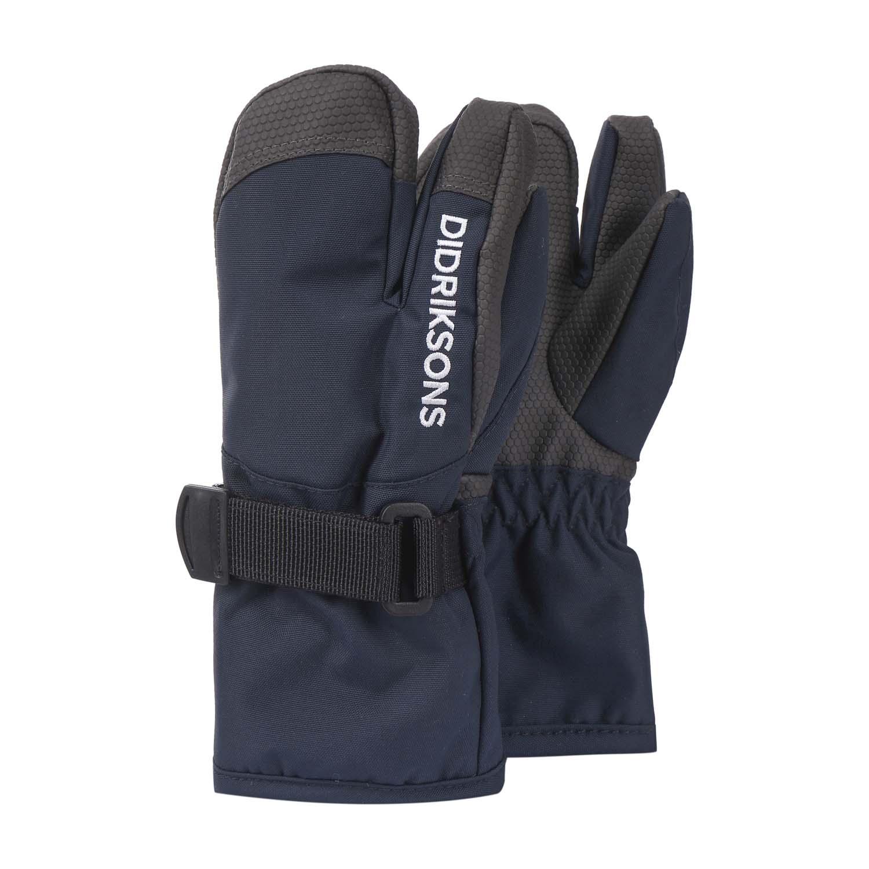 Didriksons Fossa 3 Finger Ski Gloves Navy 2021