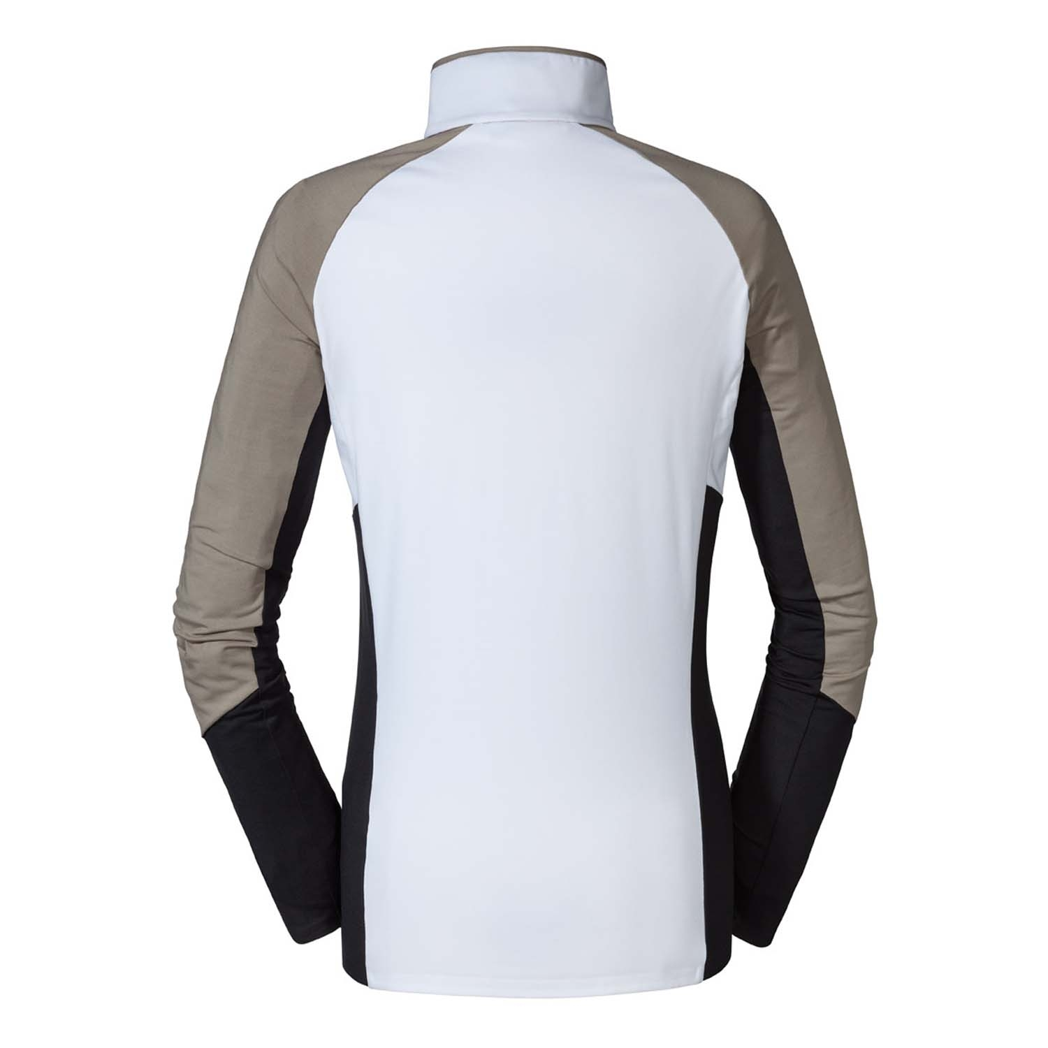 Schoffel Juonli Long Sleeve Top White/Taupe 2021