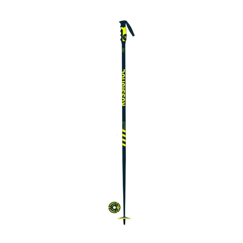 Rossignol Stove Ski Poles Blue Yellow 2021