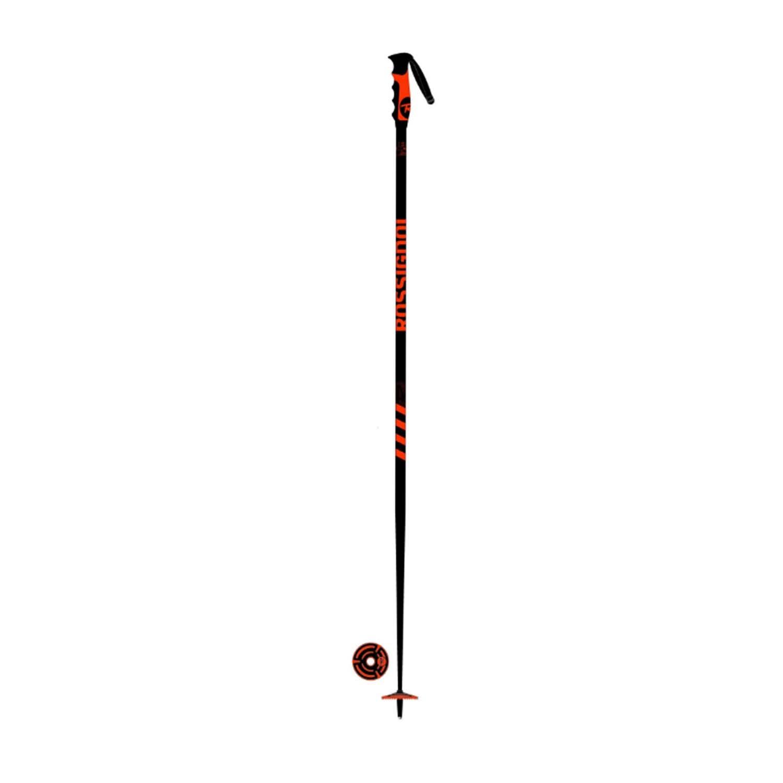 Rossignol Stove Ski Poles Black Red 2021