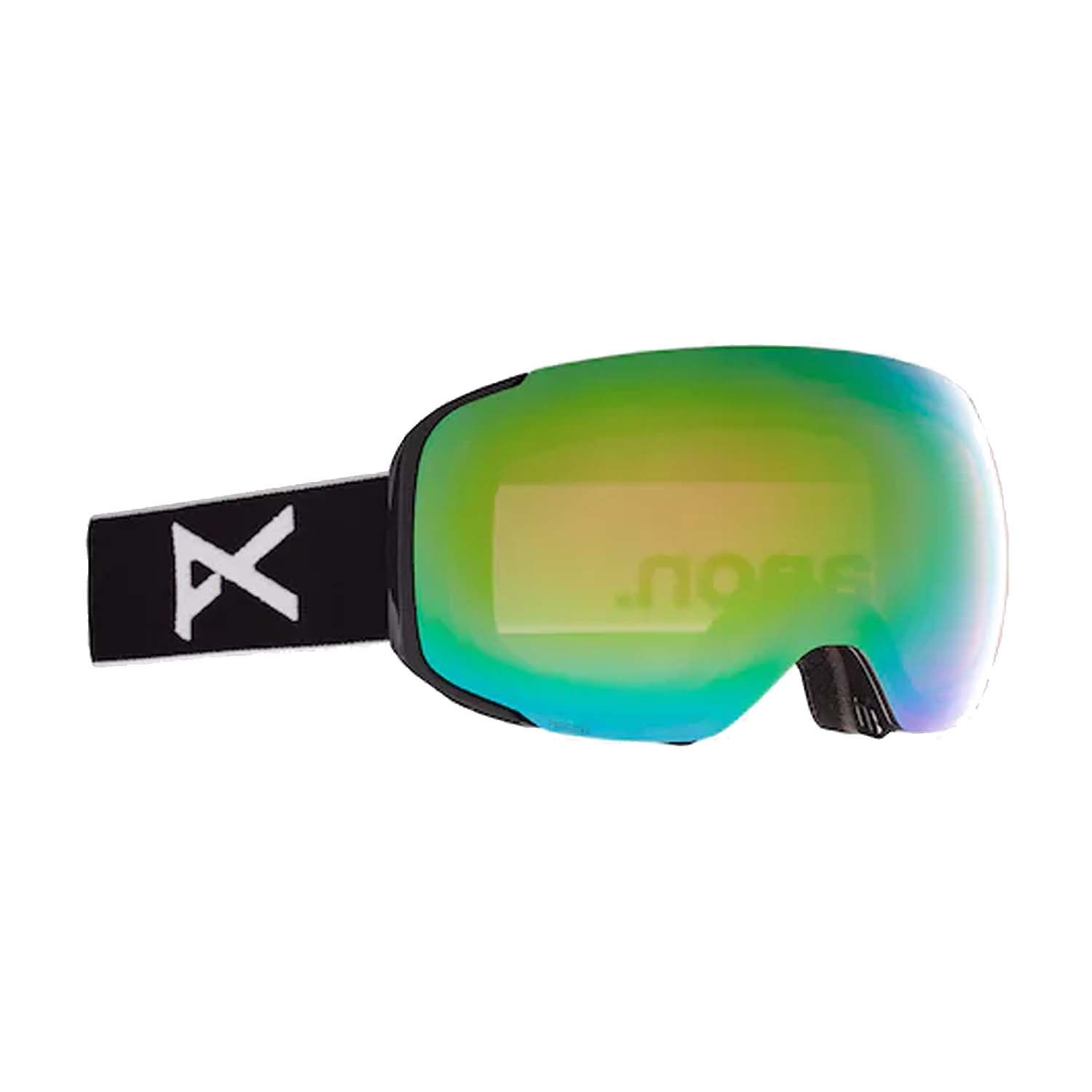 Anon M2 Goggles Black/Perceive Variable Green Lens 2021