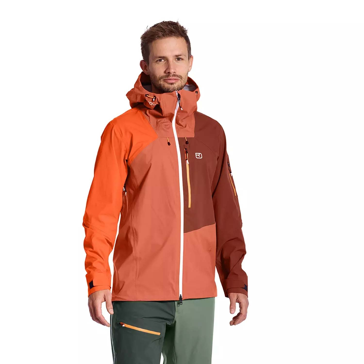 Ortovox Ortler 3L Jacket Desert Orange 2021