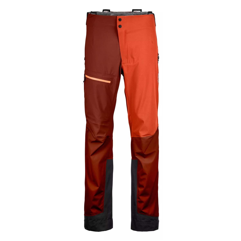 Ortovox Ortler 3L Pant Clay Orange 2021
