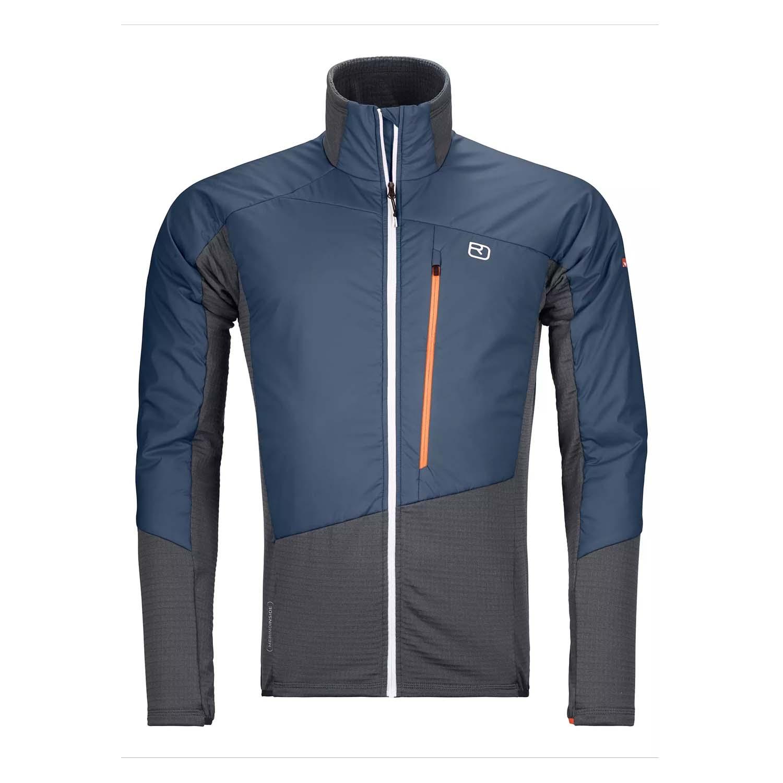 Ortovox Westalpen Swiss Wool Hybrid Jacket Black Steel 2021
