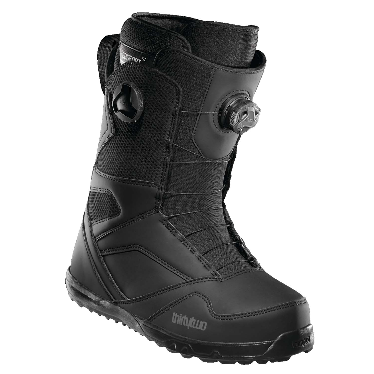 ThirtyTwo STW Double Boa Snowboard Boots Black 2021