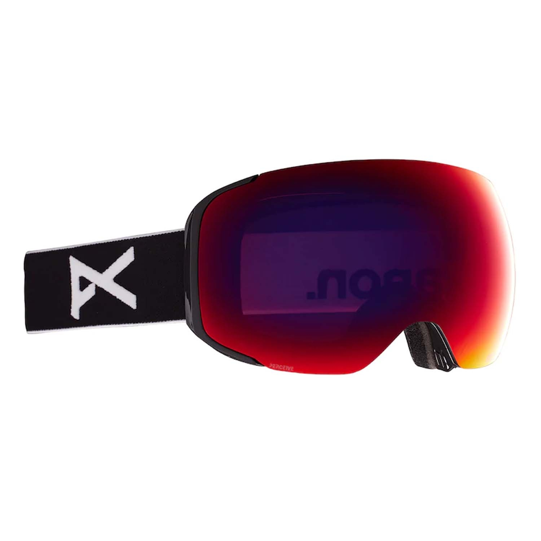 Anon M2 Goggles Black/Perceive Sun Red Lens 2021