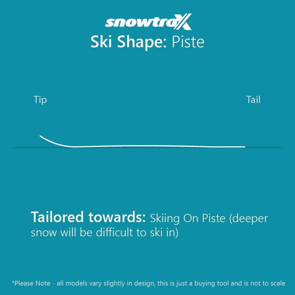 Salomon S Max 10 W Skis with M11 GW L80 Bindings 2021