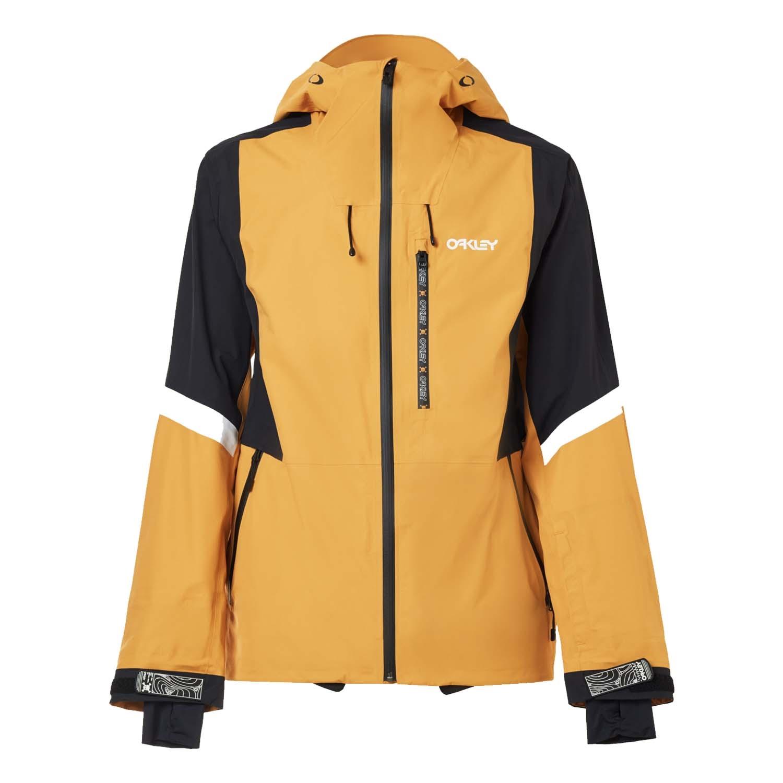 Oakley TC Gunn Shell Jacket Gold Yellow 2021