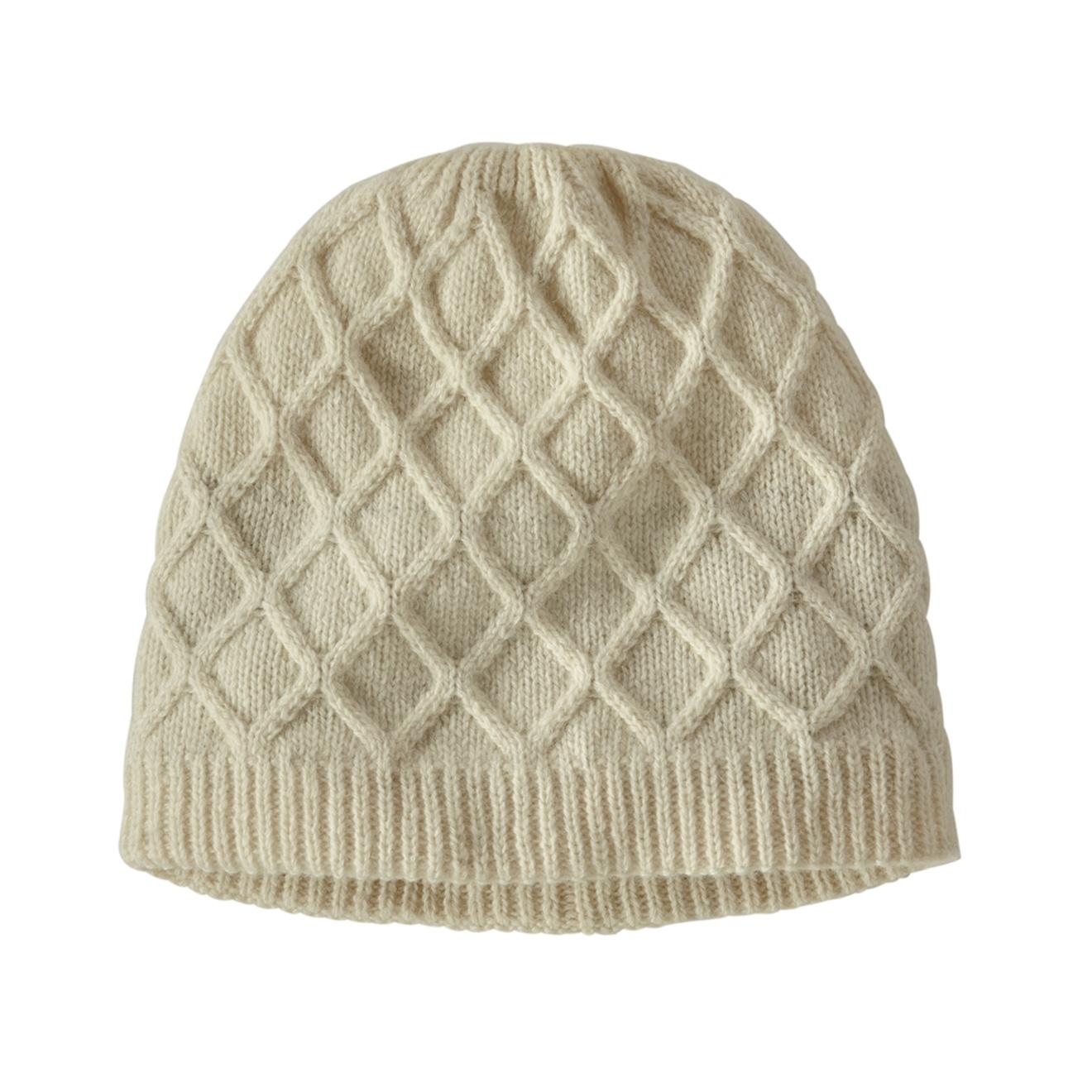 Patagonia Honeycomb Knit Beanie Birch White 2021