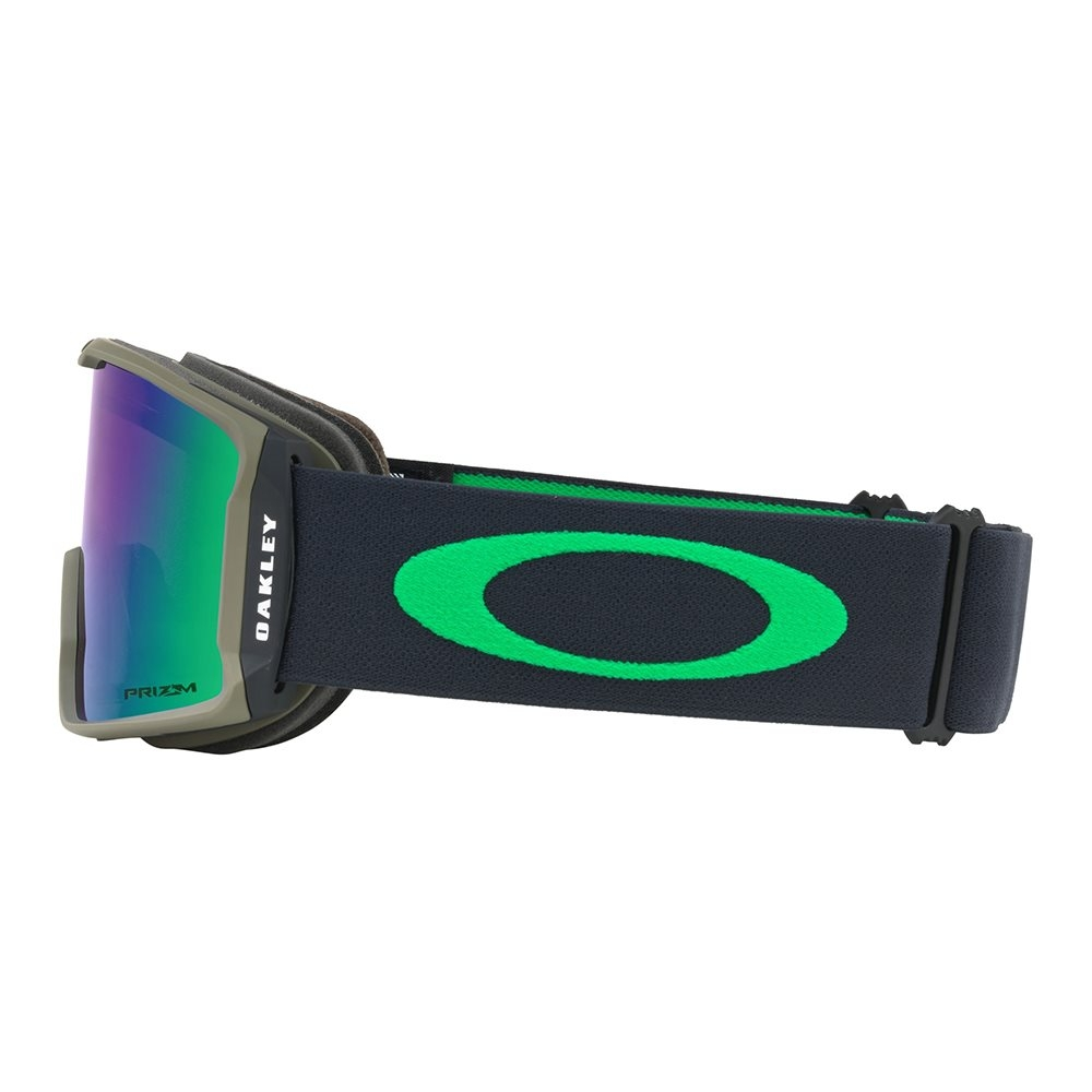 Oakley Line Miner Goggle Canteen Iron with Prizm Jade Iridium 2018