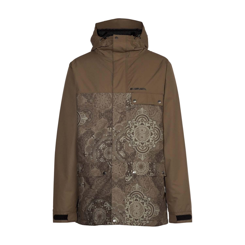 Armada Emmett Insulated Ski Jacket Burnt Olive