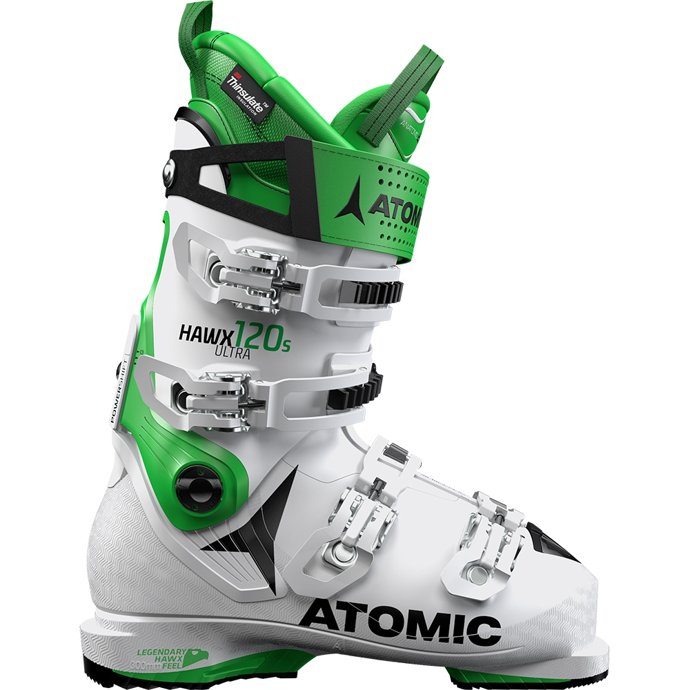 Atomic Hawx Ultra 120 S Ski Boot White/Green 2019