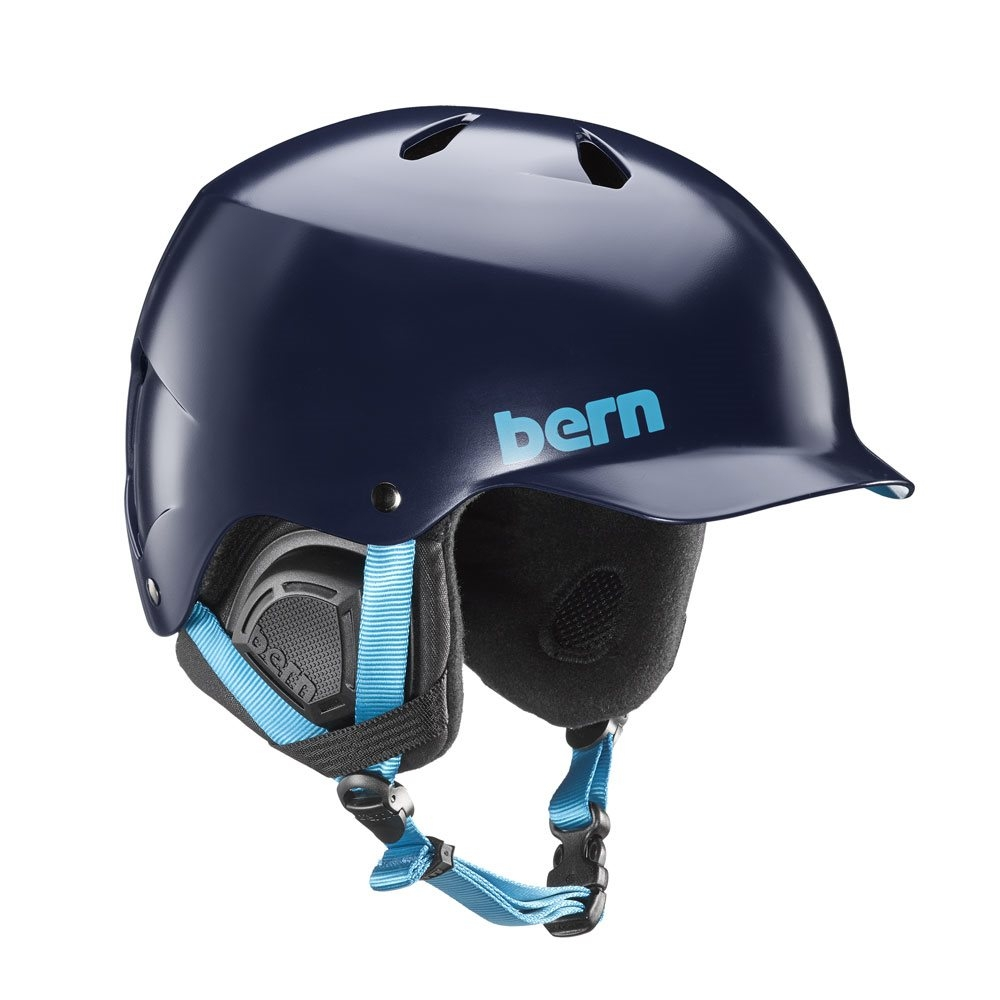 Bern Watts Helmet Satin Navy Blue 2018