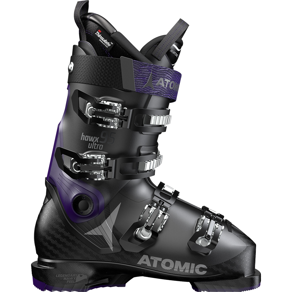 Atomic Hawx Ultra 95 W Ski Boot Black/Purple 2019