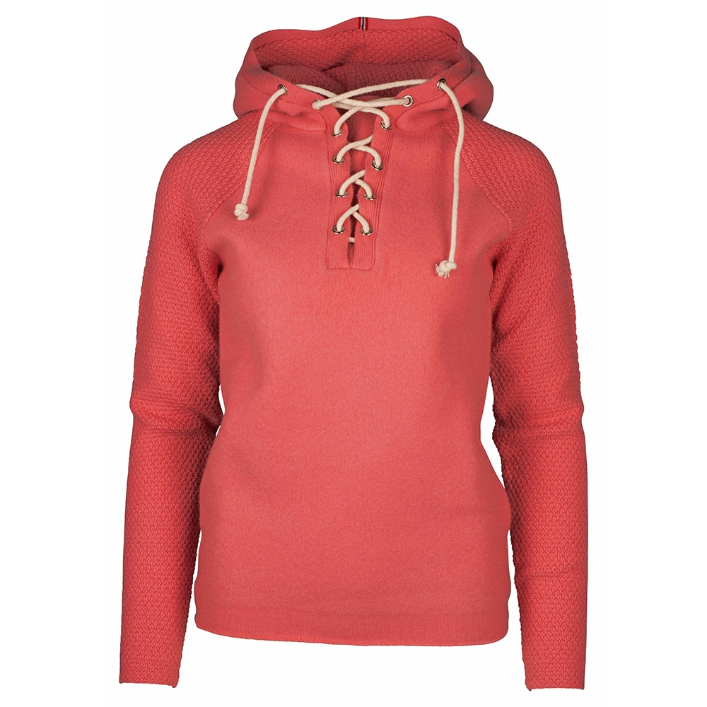 Amundsen Boiled Hoodie Lace Womens Weathered Red 2019