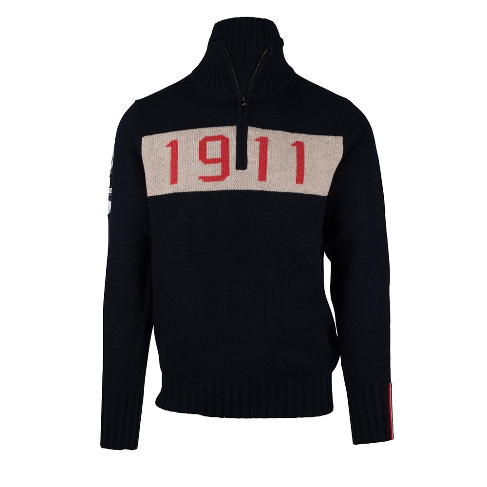 Amundsen 1911 Half Zip Mens Faded Navy 2019
