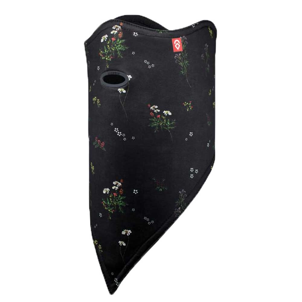 Airhole 2 Layer DWR Facemask Standard Midnight Floral 2019