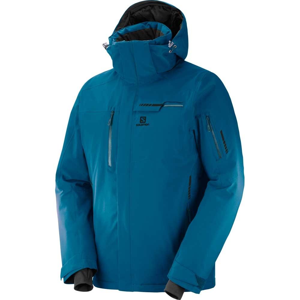 3db6b9aee2cc Salomon Brilliant Mens Jacket Moroccan Blue 2019 - Snowtrax