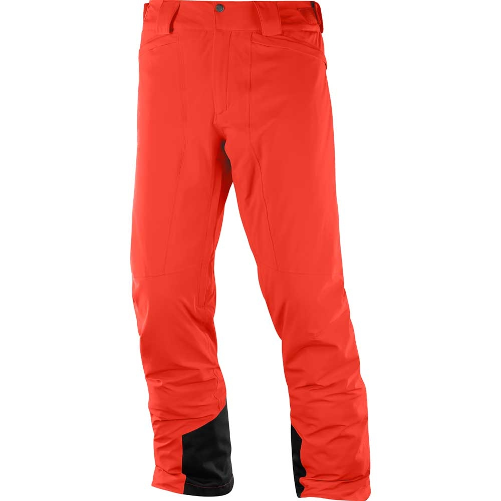 Salomon Icemania Mens Pant Fiery Red 2019