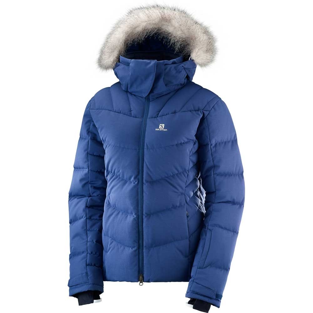 Salomon Icetown Womens Jacket Medieval Blue 2019