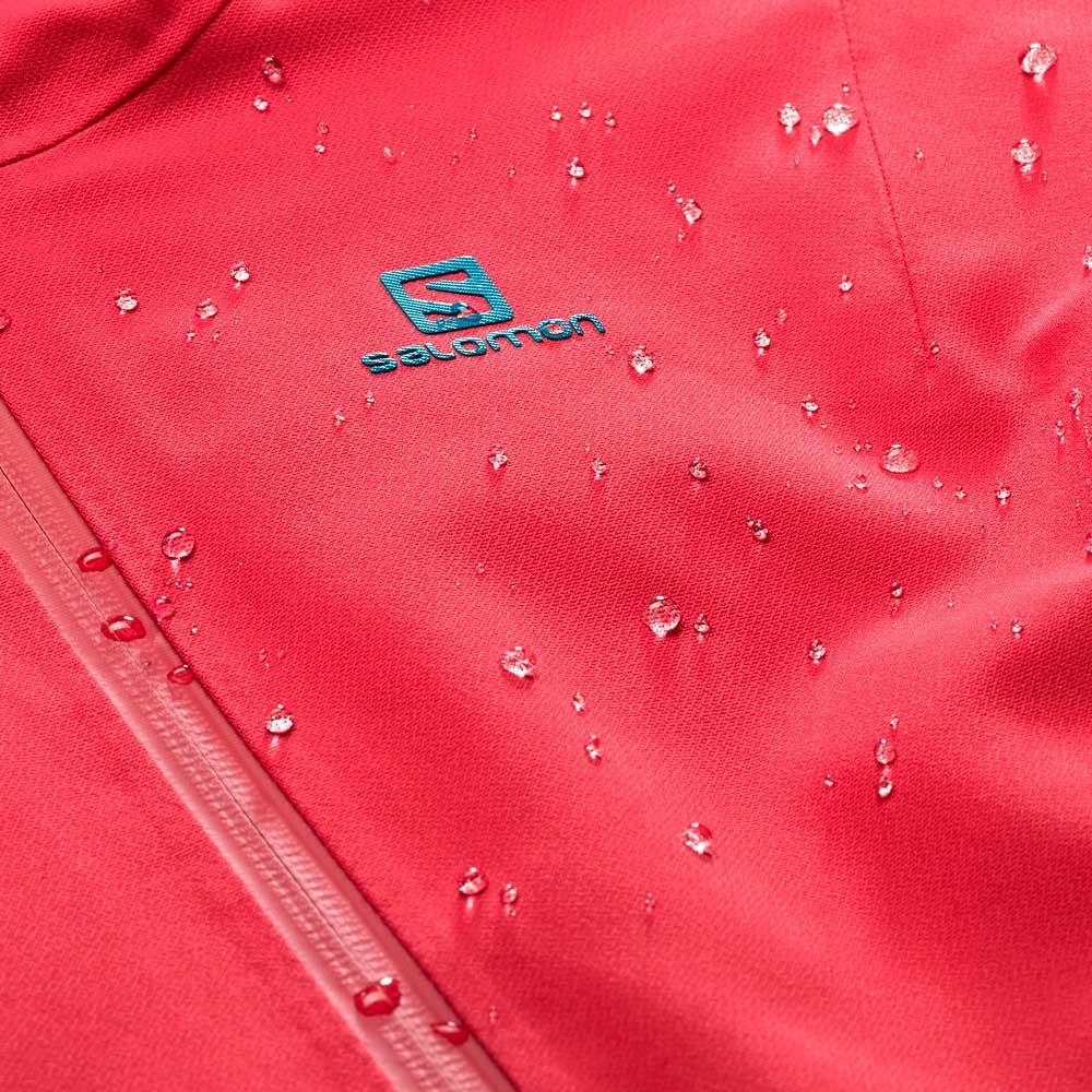 Salomon QST Guard Womens Jacket Hibiscus 2019
