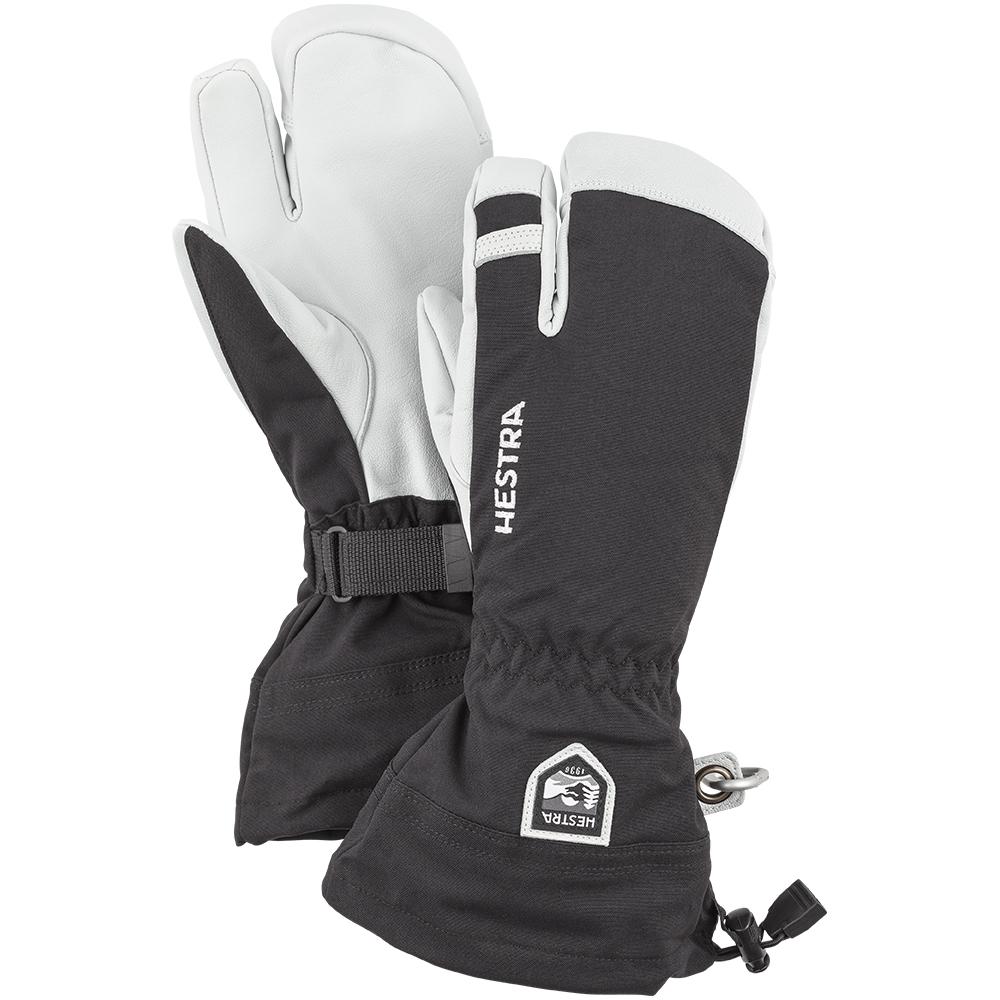 Hestra Army Leather Heli Ski 3 Finger Black 2019
