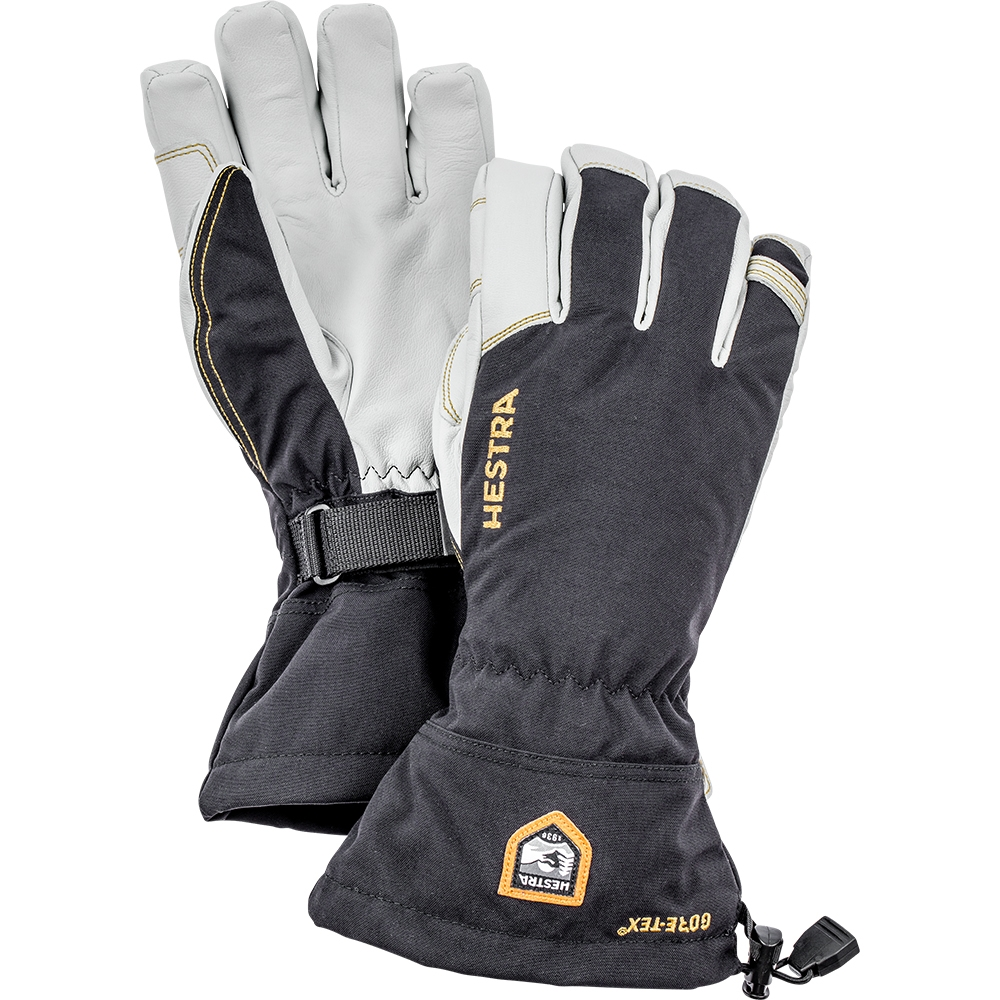 Hestra Army Leather Gore Tex Glove Black 2019
