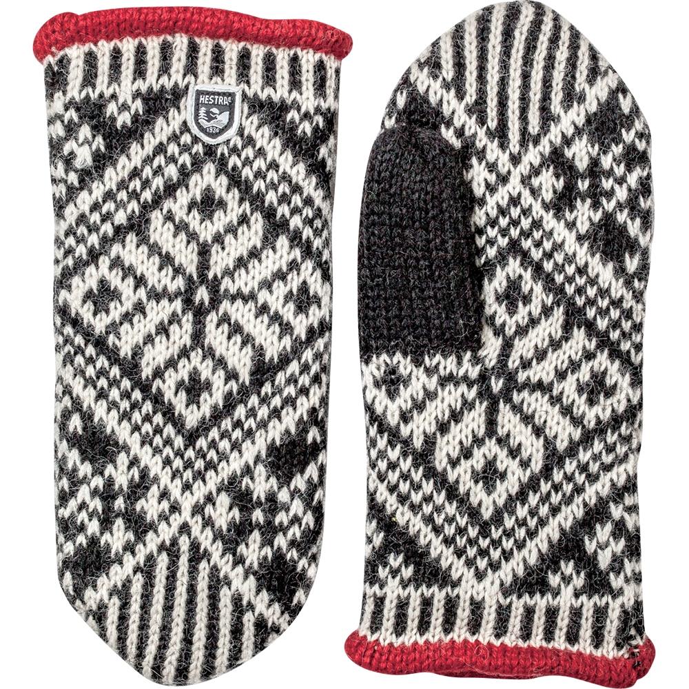 Hestra Nordic Wool Mitt Black 2019