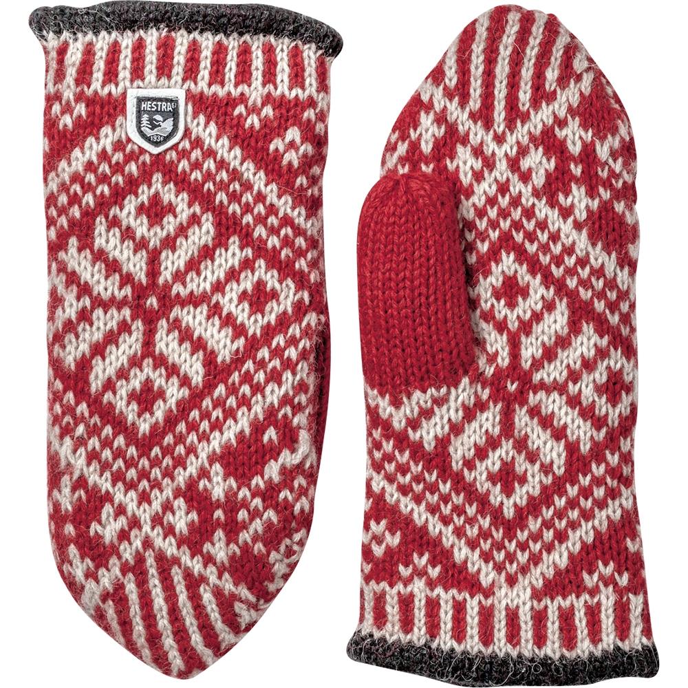 Hestra Nordic Wool Mitt Red 2019